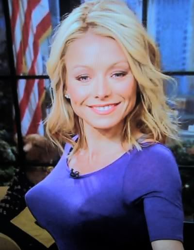 Kelly Ripa Pointy Tits Pinterest