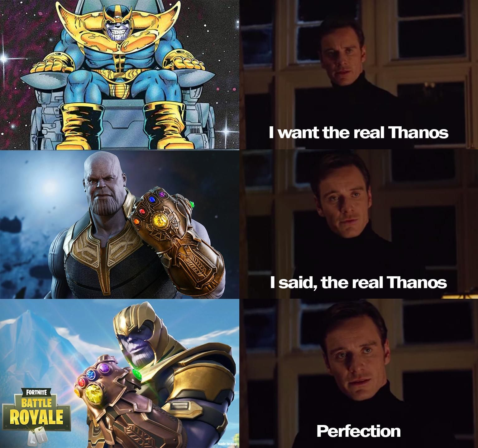 Is Fortnite Thanos Apart Of The Mcu Fortnite Pubg Funny