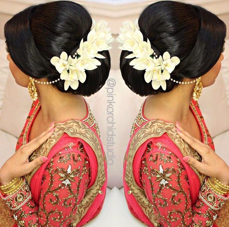 Pinterest Pawank90 Wedding Hair And Makeup Flowers In Hair Wedding Bun Hairstyles