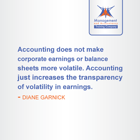 Accounting Does Not Make Corporate Earnings Or Balance Sheets More
