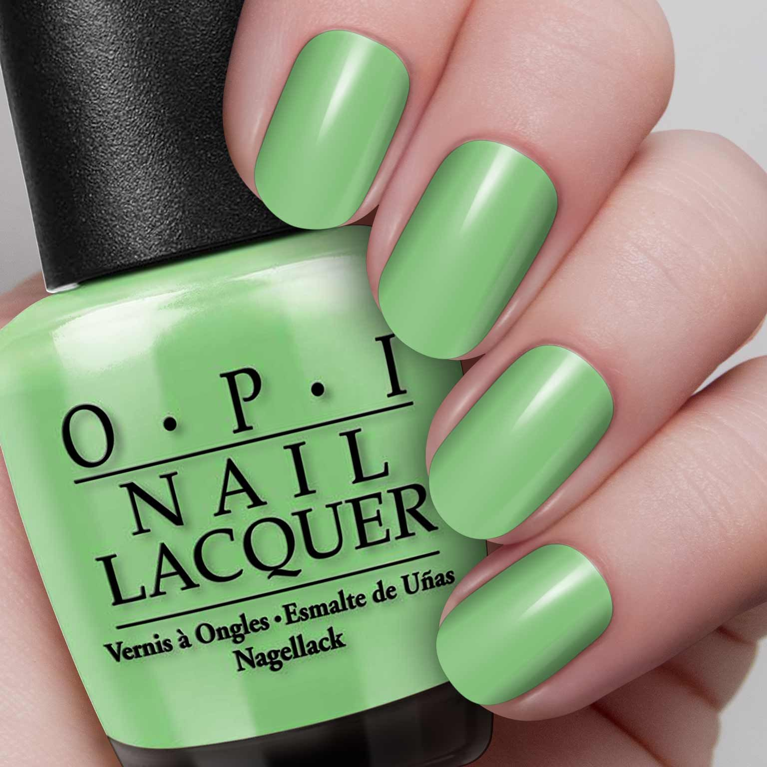 You are So Outta Lime! | OPI | Nails | Pinterest