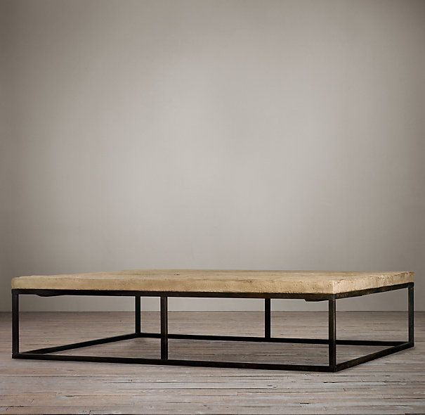 Outstanding Rh Coffee Table Family Room Coffee Table Restoration Inzonedesignstudio Interior Chair Design Inzonedesignstudiocom