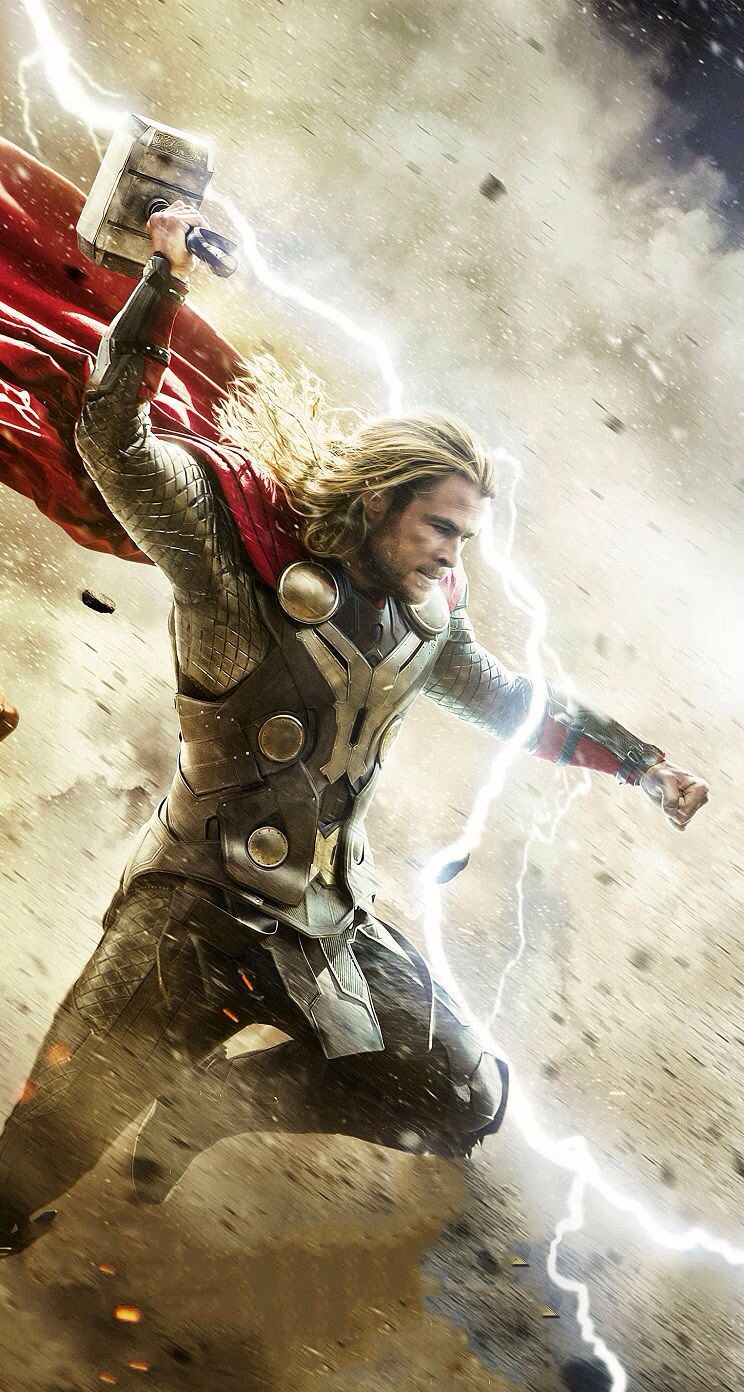 Thor is the god of thunder and he is represented by his axe hammer. He is an aesir god who has long had a conflict with the World Serpent Jormungand. He almost reels him in on a fishing trip with Hymir but fails. The two face off in Ragnarok and while he succeeds in killing the serpent, Thor is killed in turn by its poison.