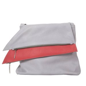 Large Shoulder Bag Gray, now featured on Fab.