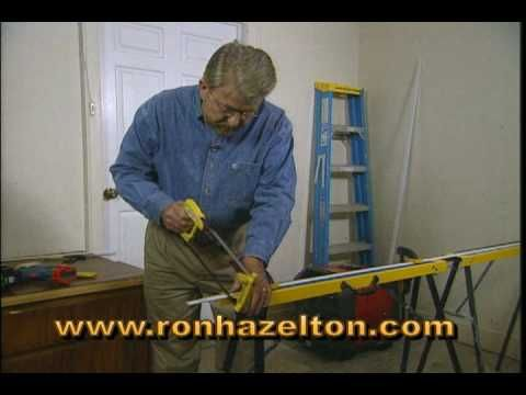 Home improvement expert Ron Hazelton shows how to install weatherstripping around a door, providing better insulation from the cold air. For more DIY projects and tips, visit http://www.ronhazelton.com.