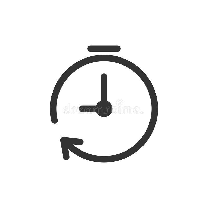 Clock Timer Icon In Flat Style Time Alarm Illustration On White Isolated Backg Affiliate Style Time Alarm Flat Timer Clock Clock Icon Time Alarm