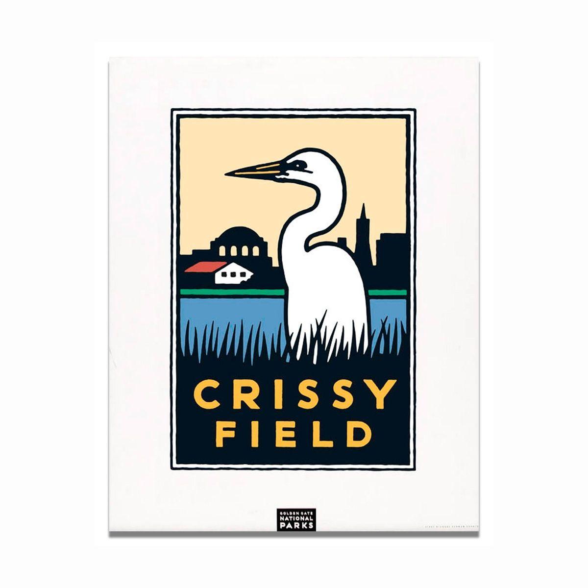 Unframed Poster Crissy Field Crissy field, San