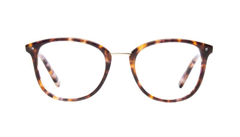 Lunettes tendance Carrée Ronde Optiques Femmes Ella Dark Tortoise ... fd526de6fdfc
