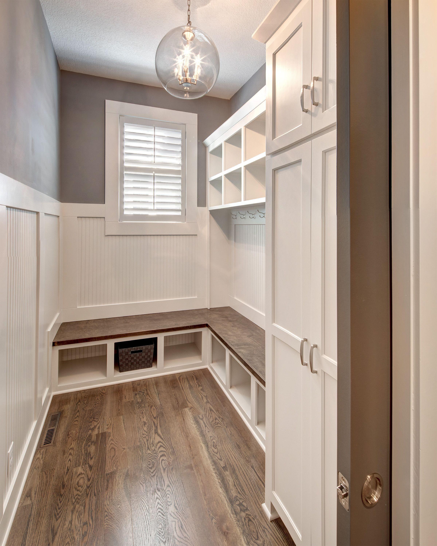 I Model Home Gallery Johnson County Ks Mud Room Storage Small