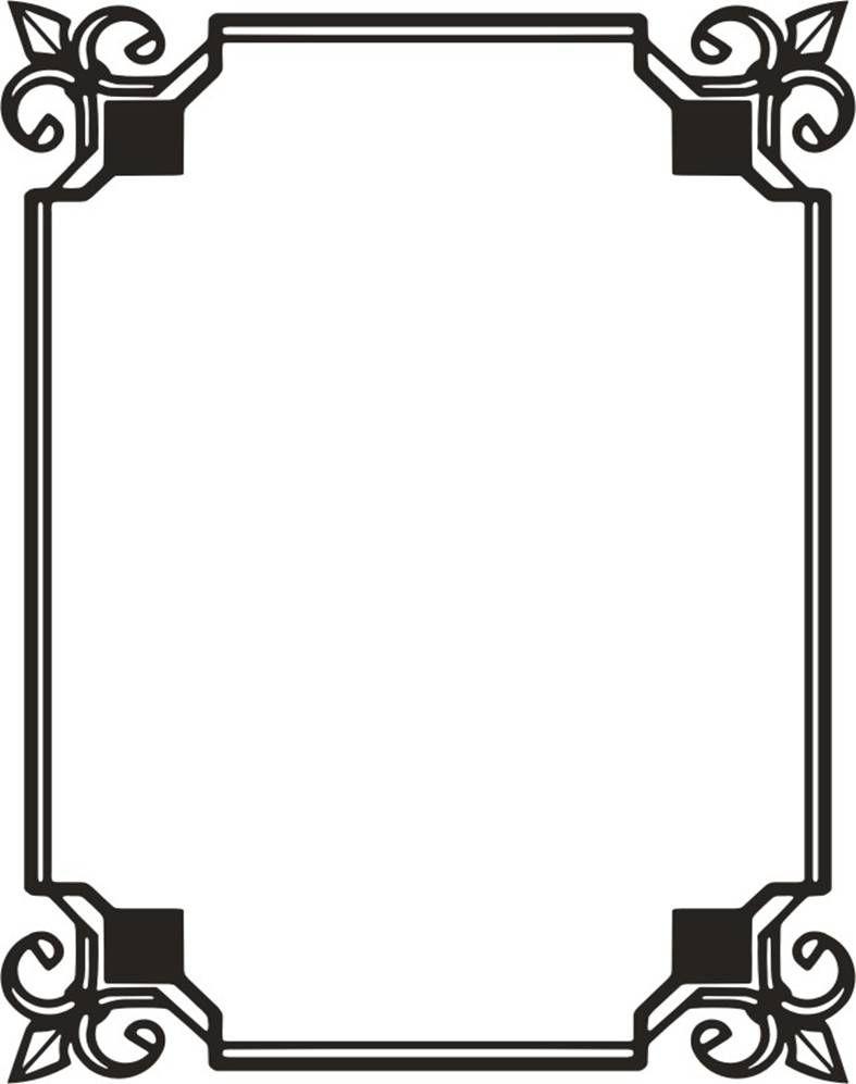 Скачать шаблон рамки для word | Lettering, Chevrolet logo ...