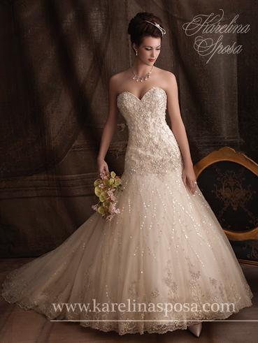 Mary\'s Bridal S13-C7903 - vintage lace wedding dress   My Winter ...