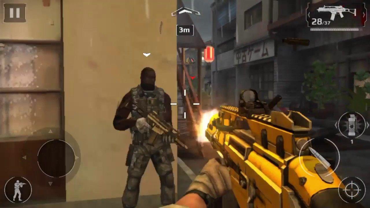 Modern Combat 5 Blackout Android Walk Through Part 3 Chapter 3 Downtown Chapter 3 Combat Chapter