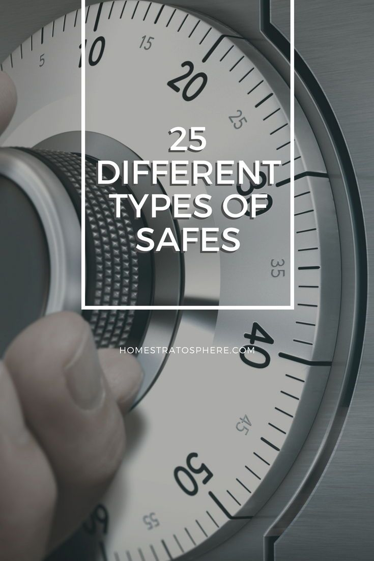 25 Different Types of Safes Combination safe, Dial lock