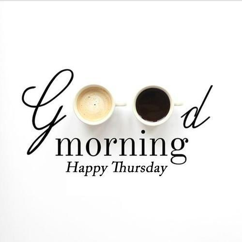 ☕Happy Thursday to you all!☕ Coffee was a MUST this morning, the week is