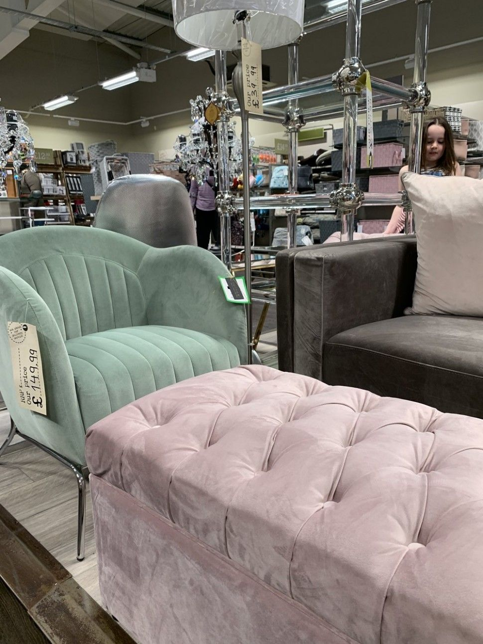 Homesense Bedroom Chairs in 7  Bedroom furniture for sale