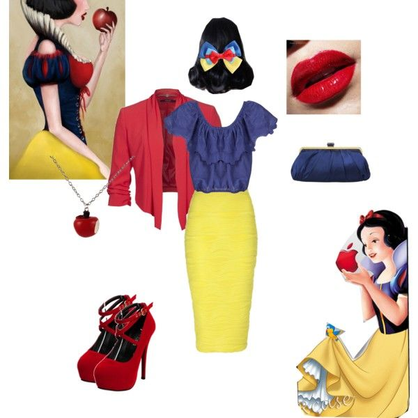 """""""Snow White"""" by angelajeangaulke on Polyvore"""