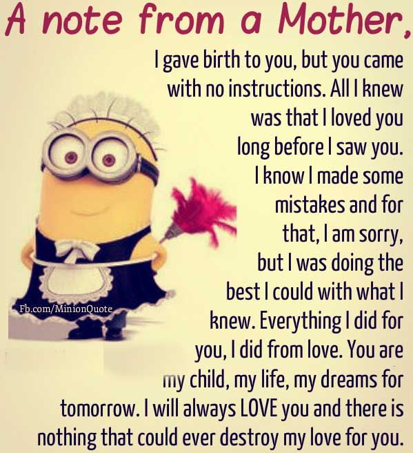 Funny Minion Quotes For Kids One Punch Man My Children Quotes Daughter Quotes Son Quotes