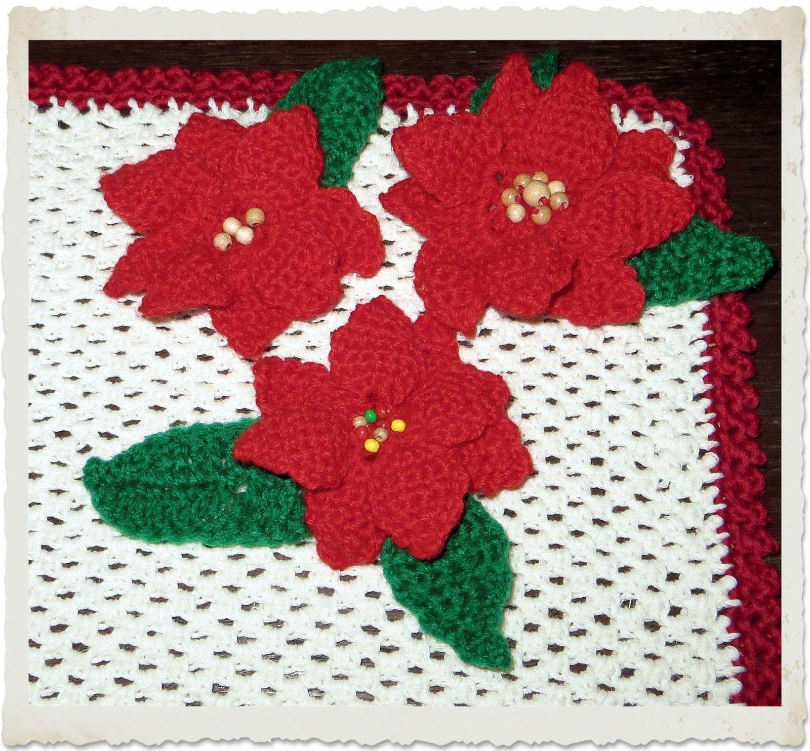 Weihnachtsstern häkeln | Blumen häkeln | Pinterest ...