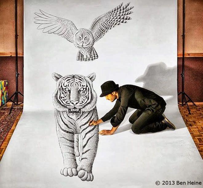 30 beautiful 3d drawings 3d pencil drawings and art works read full article