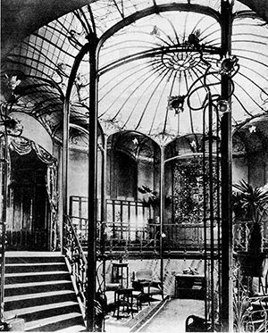 The Art Nouveau Blog Architecture