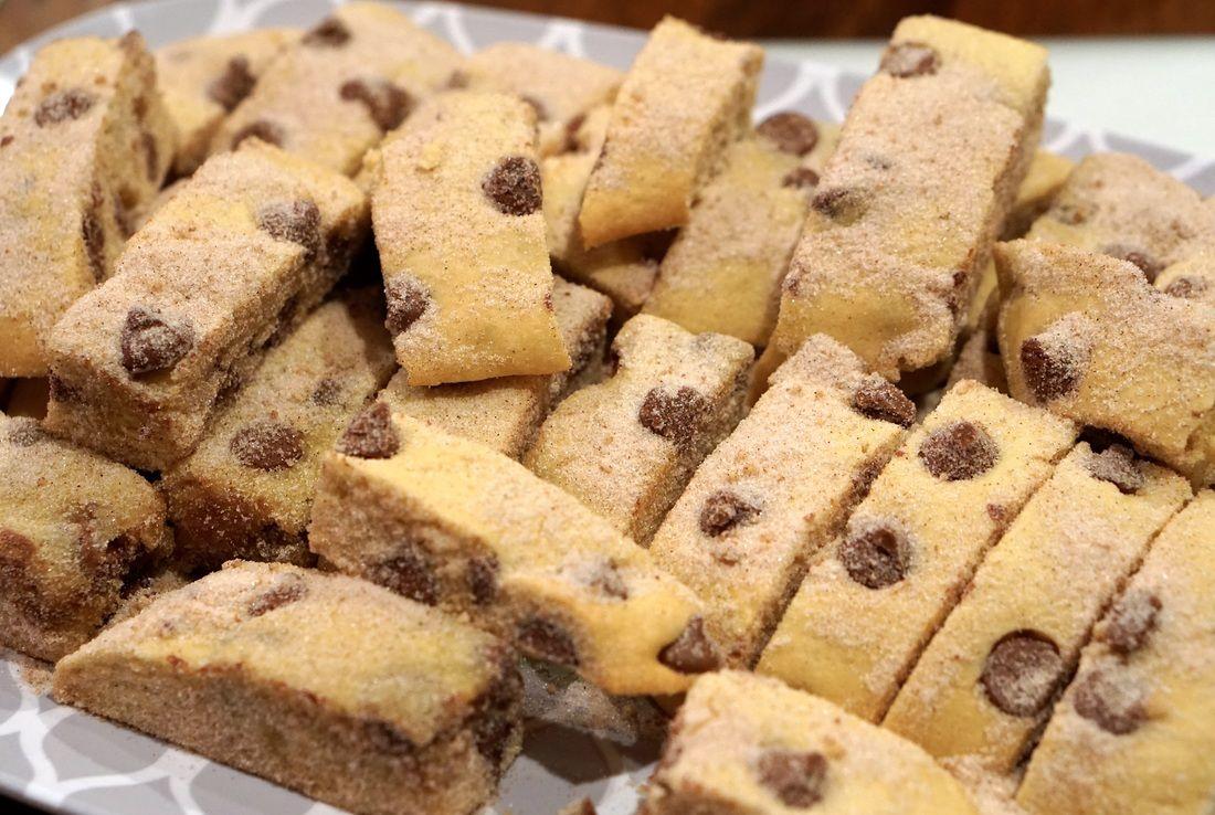 Chocolate Chip Mandel Bread