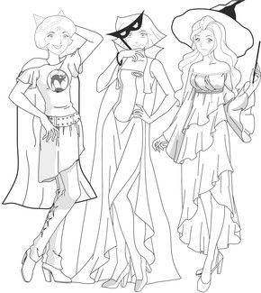 Concours TiVi5Monde : Totally Spies   Coloriage totally ...