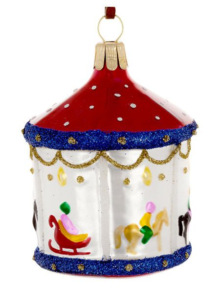 David Jones - Christmas Shop Carousel Ornament Xmas baubles