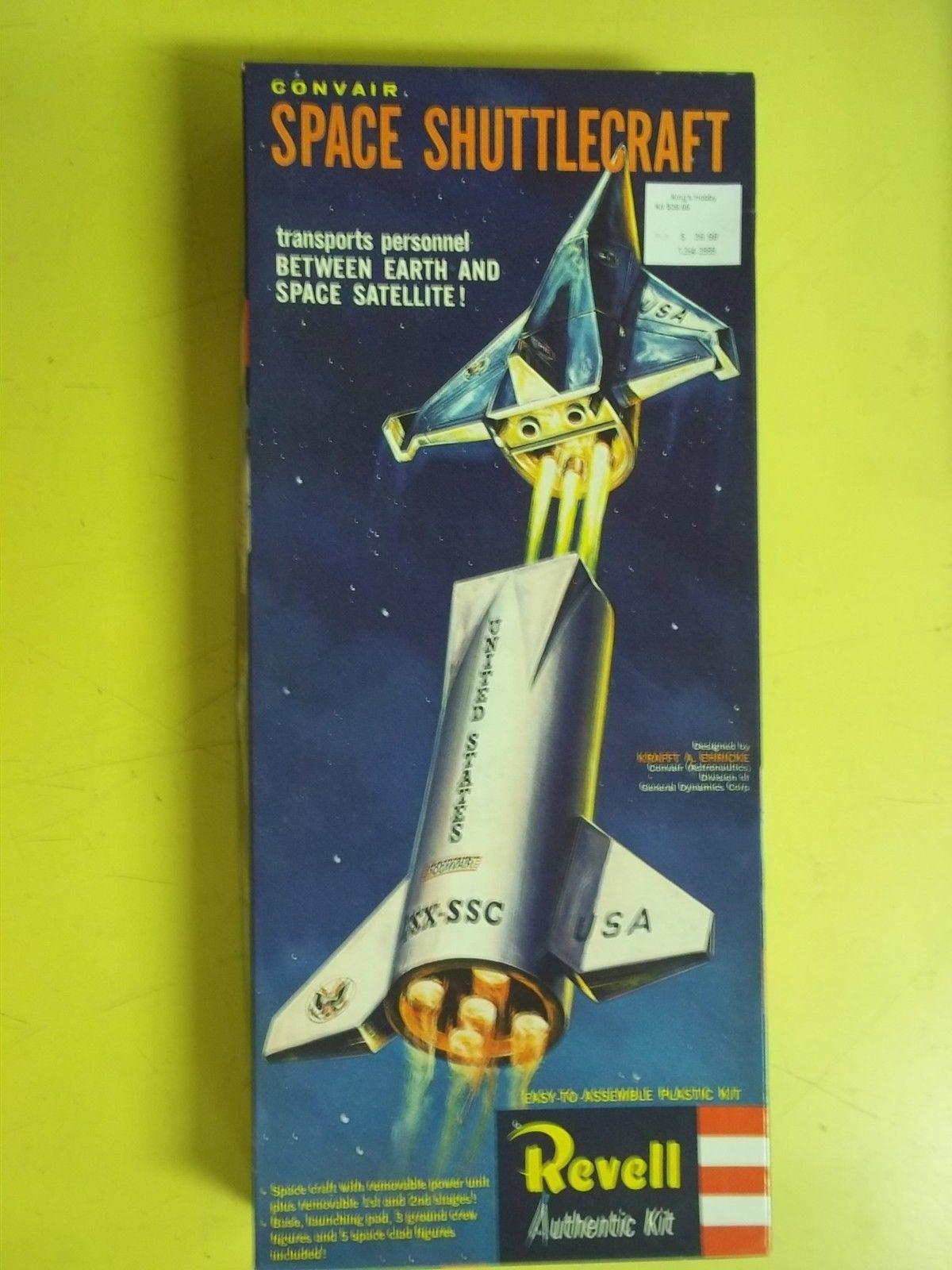 KHS Revell H 1828 Convair Space Shuttlecraft Plastic Model