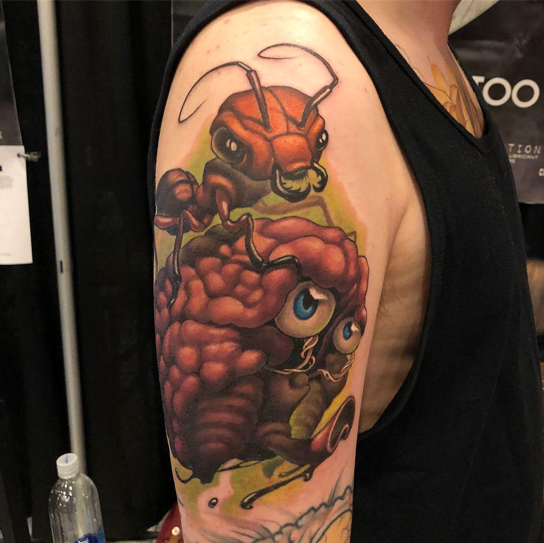 Tattoo Tatowierung Kunst Korperkunst Idee Design