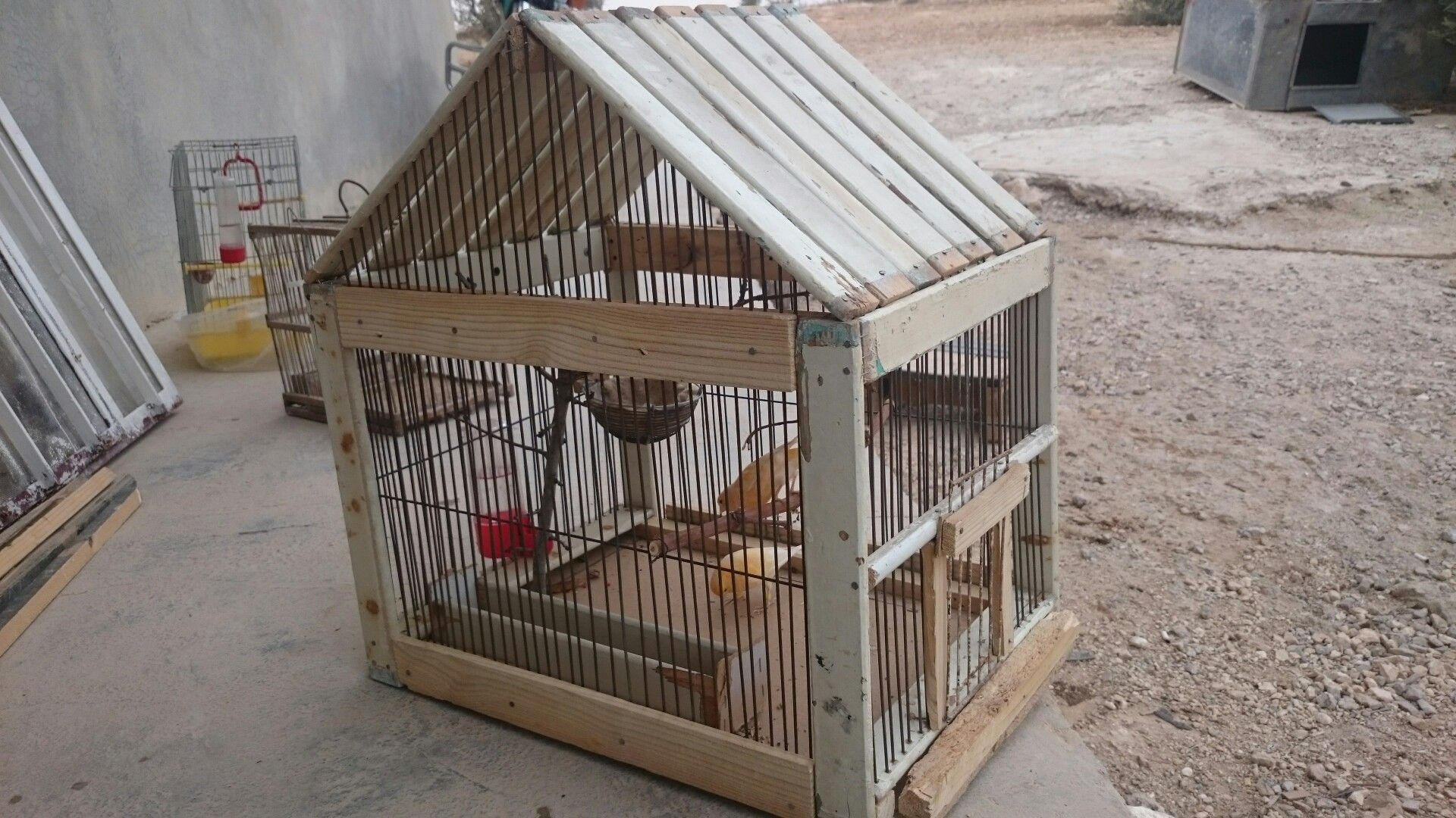 Homemade Canary Cage 51