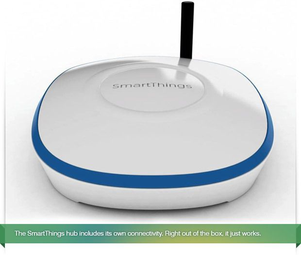 SmartThings Hub on Kickstarter