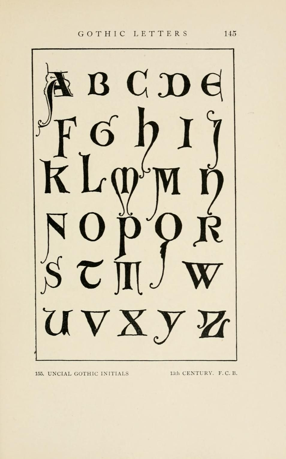 Letters Lettering A Treatise With 200 Examples