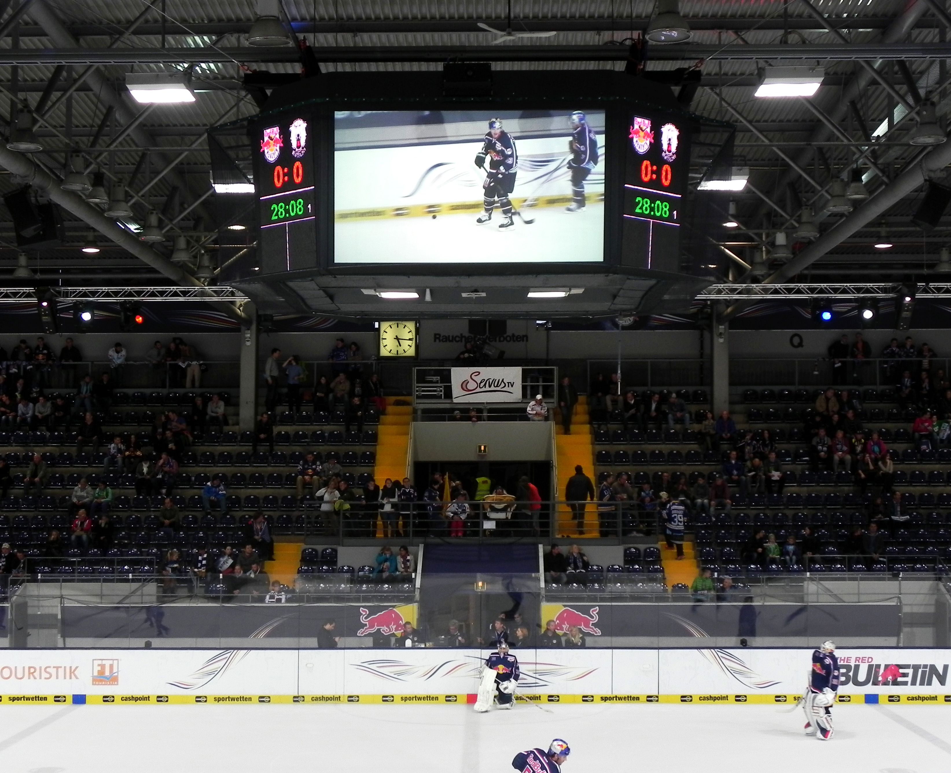 Led Boards For Ehc Red Bull Munich