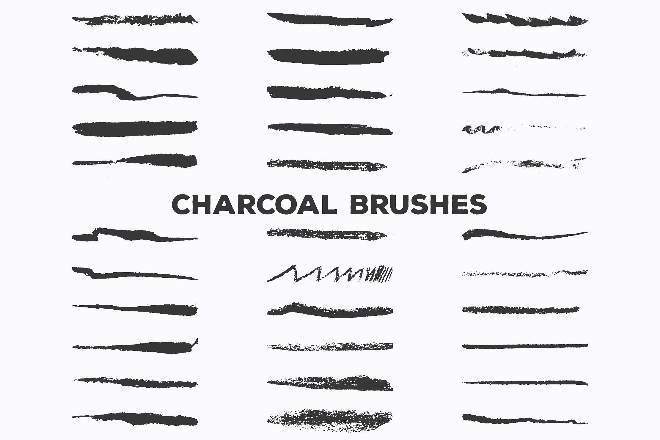 Pencil Charcoal Illustrator Brushes With Images Illustrator