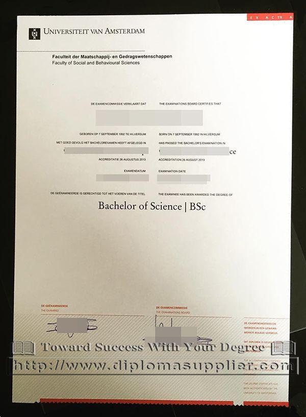 Replica college diploma