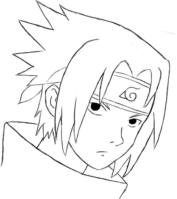 How To Draw Sasuke With Images Sasuke Drawing Kakashi Drawing
