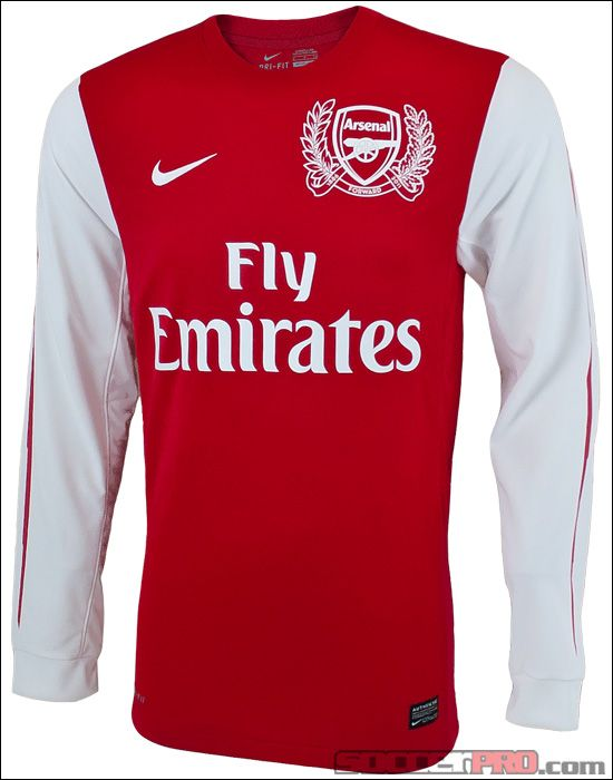 5bf9af656 A Nike Arsenal Long Sleeve Home Jersey 2011-2012 looks really good ...