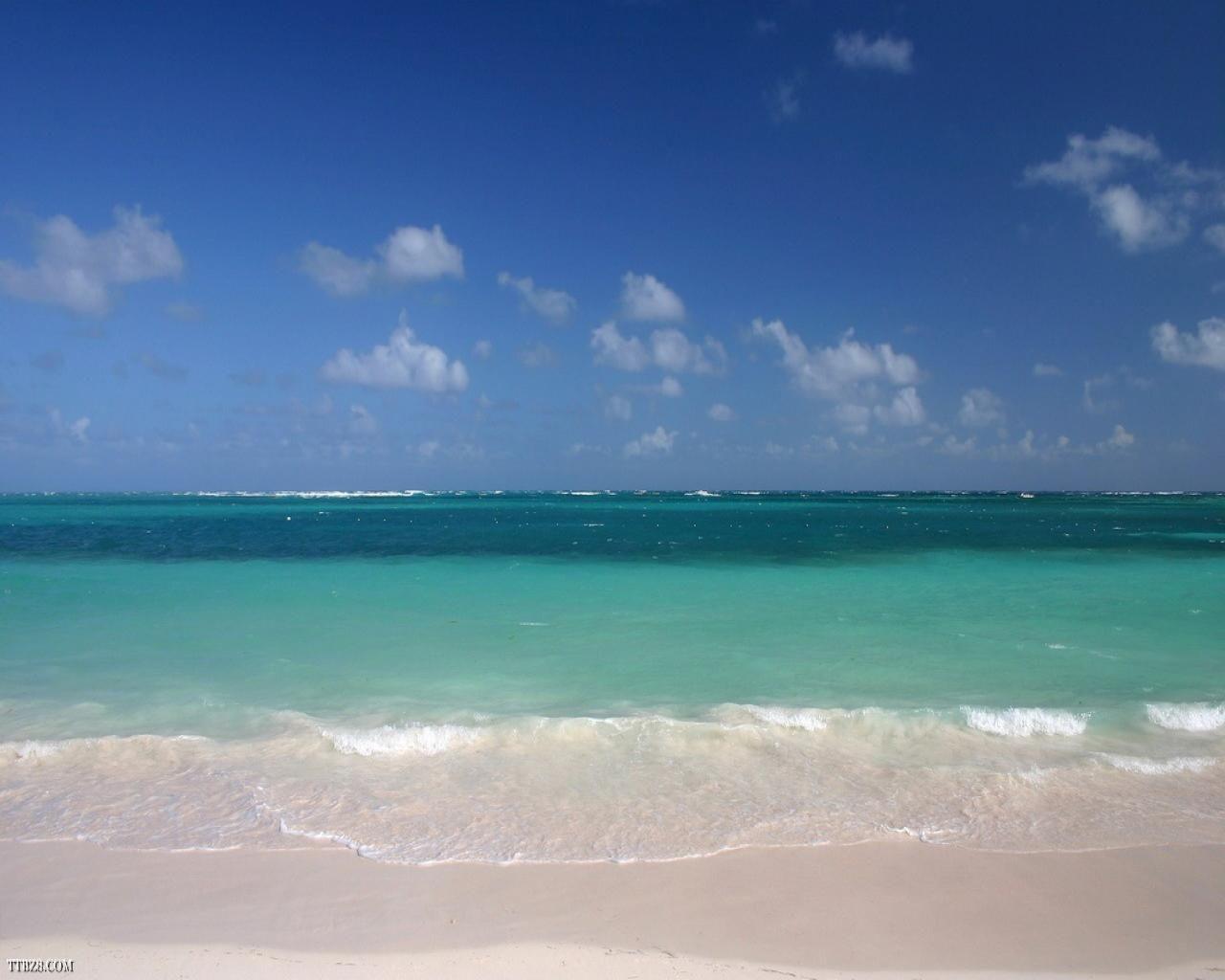 Beautiful Beach Scenes | ... Scene 1280x800 - Download ... - photo#18