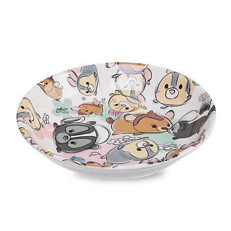 Bambi And Friends Tsum Tsum Sketch Plate Disney Home Decor