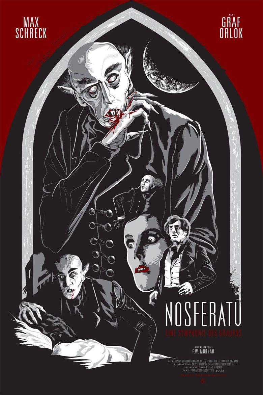 Nosferatu 1922 F W Murnau 映画 ポスター ポスター 映画