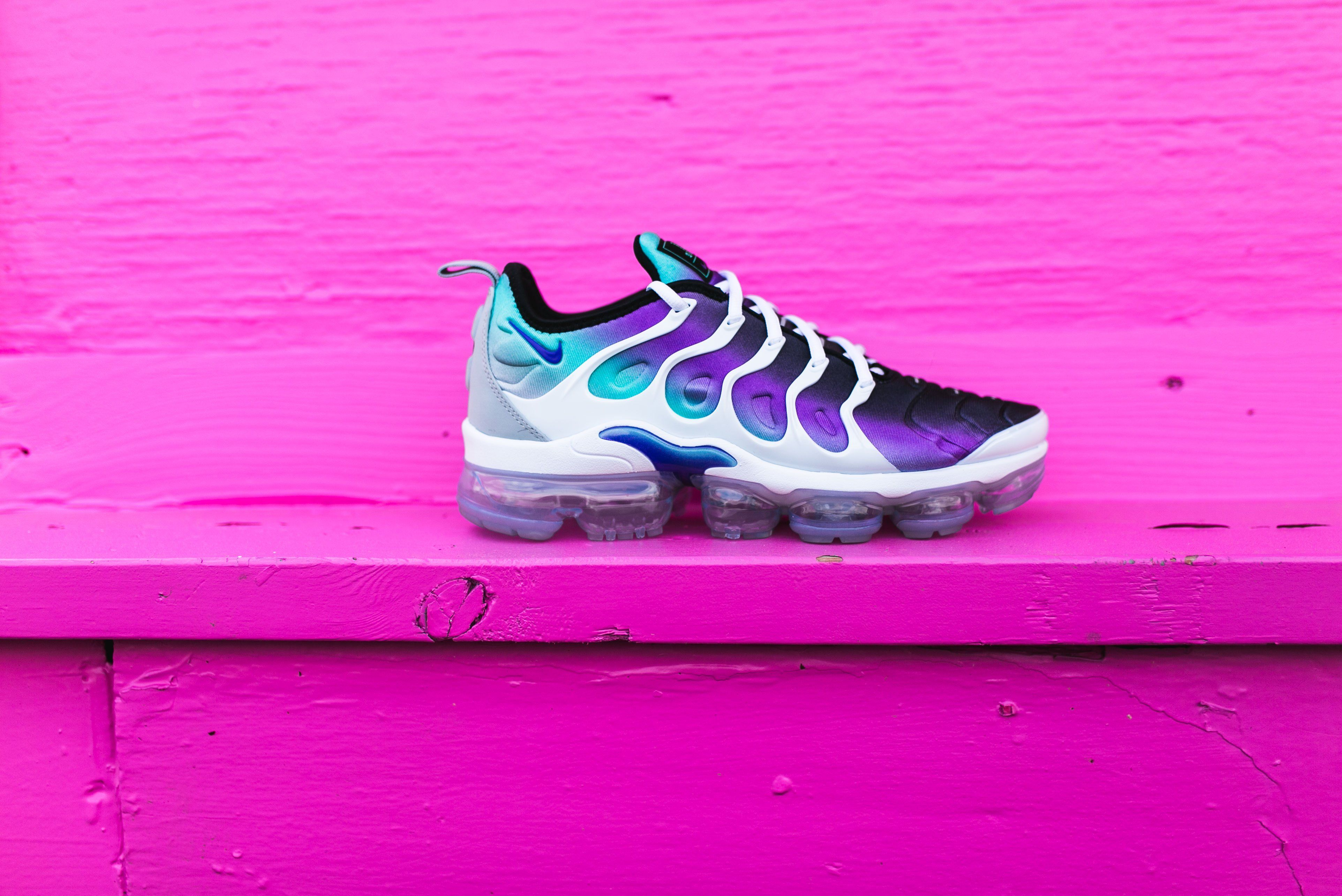 new arrival 5552b 4a2a7 Nike Air VaporMax Plus (White/Fierce Purple) | Products ...