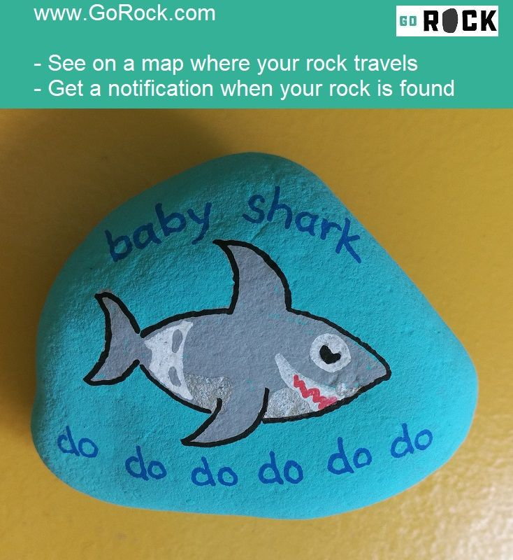 SharkWeek is even more fun with these paintedrocks  Paint your rock, then track where they travel with GoRock com  We'll let you know when your rock has been found  paintedstones stonepainting rockpainting rockpaintingideas rtackpaintedrocks howtopaintrocks is part of Painted rock animals -