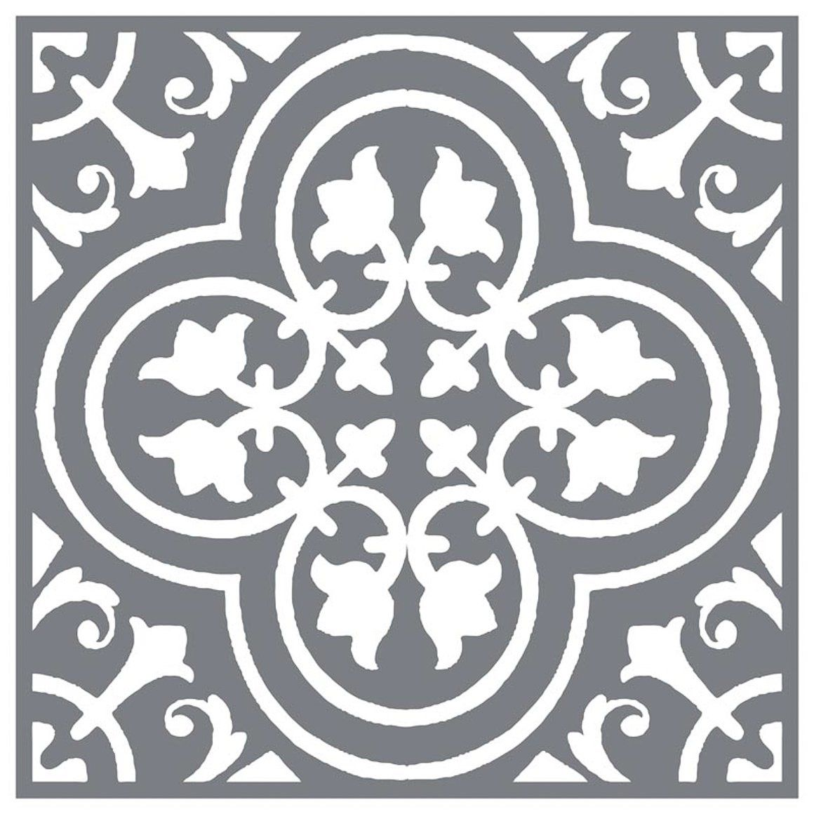 Mesh Stencil Floor Tile Traditional 12x12 Stenciled Floor Floor Stencils Patterns Stenciled Tile Floor