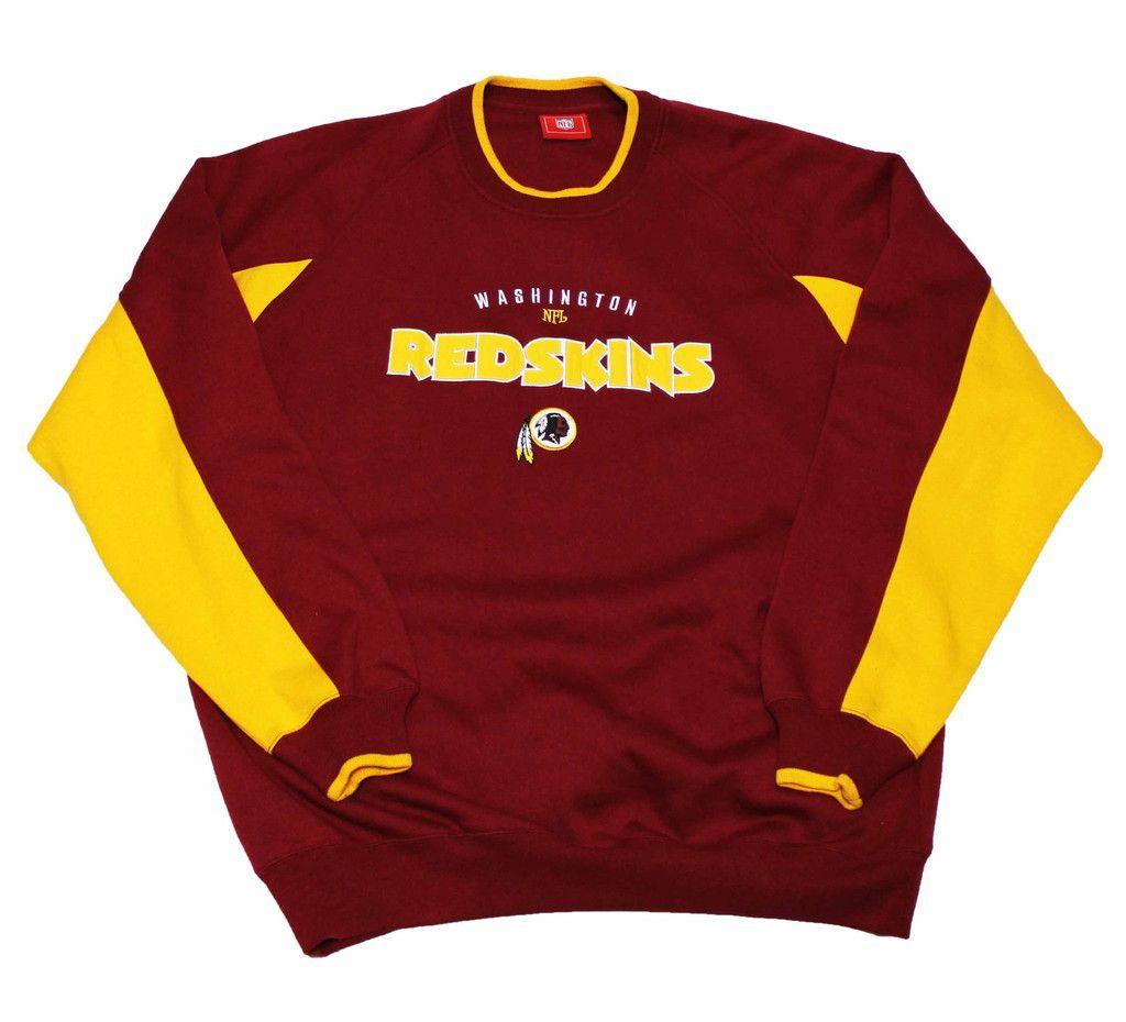 Vintage Washington Redskins NFL Crewneck Sweatshirt Mens Size ...