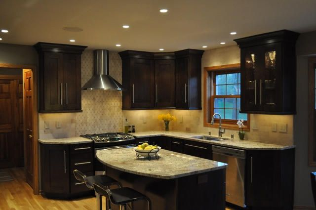 Lovely K.G. Stevens  Kitchen Countertops, Modern Kitchen Remodeling, Granite And  Perfect Island In The