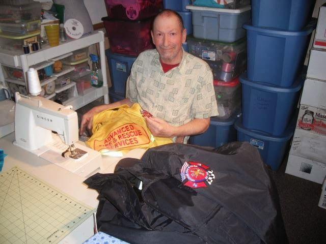 Bubble Boy Boutique: Patch Work for Advanced Fire & Rescue