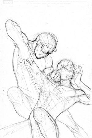 coloring pages of men having sex | Ultimate Spider-Man cover pencils by David Marquez ...