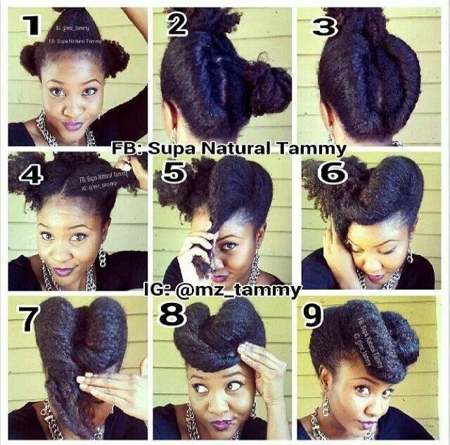 Nice easy diy style diy craft pinterest natural african hair nice easy diy style natural hair updonatural hairstylesblack solutioingenieria Images