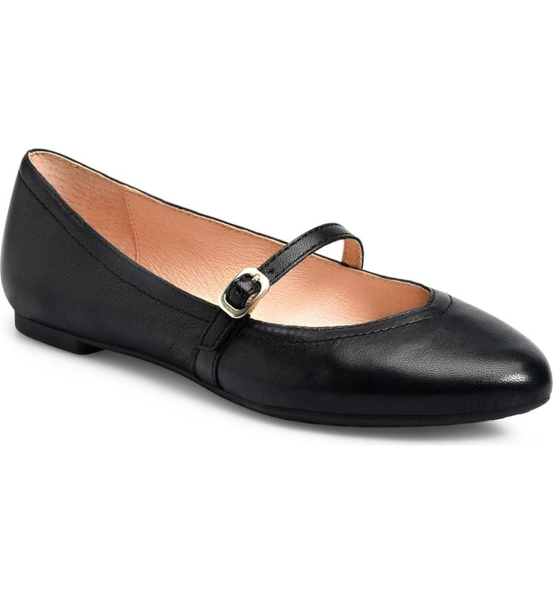 e4320f147 Free shipping and returns on ONO Lynn Mary Jane Flat (Women) at  Nordstrom.com. An almond toe and slim mary jane strap refine an essential  ballet flat ...