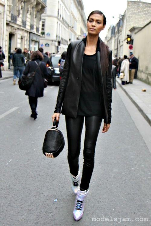 Joan Smalls, Paris, March 2012